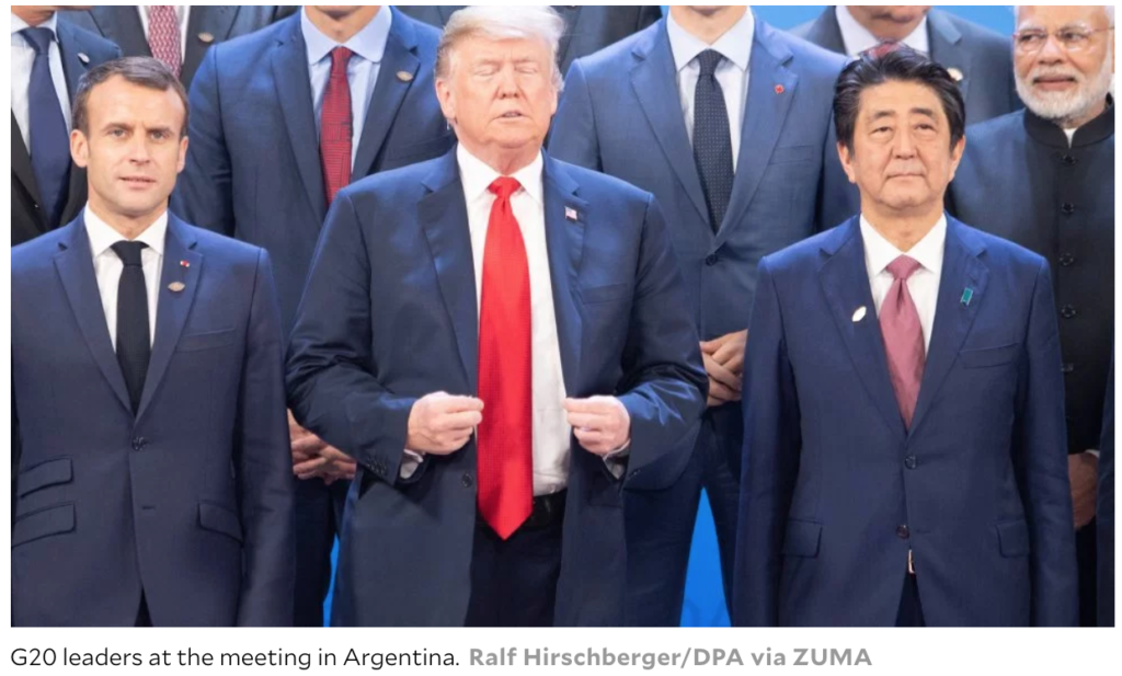 G20Summit-Trump-Ralf Hirschberger:DPA via ZUMA